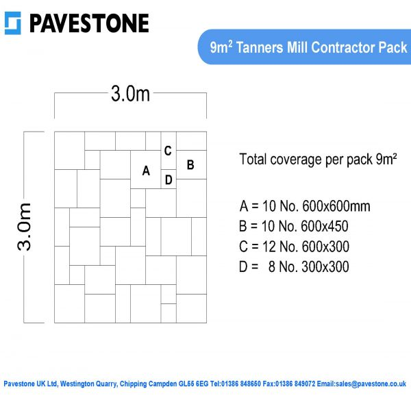 Pavestone Laying Pattern