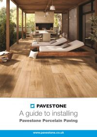 How to install Pavestone Porcelain Patio Paving