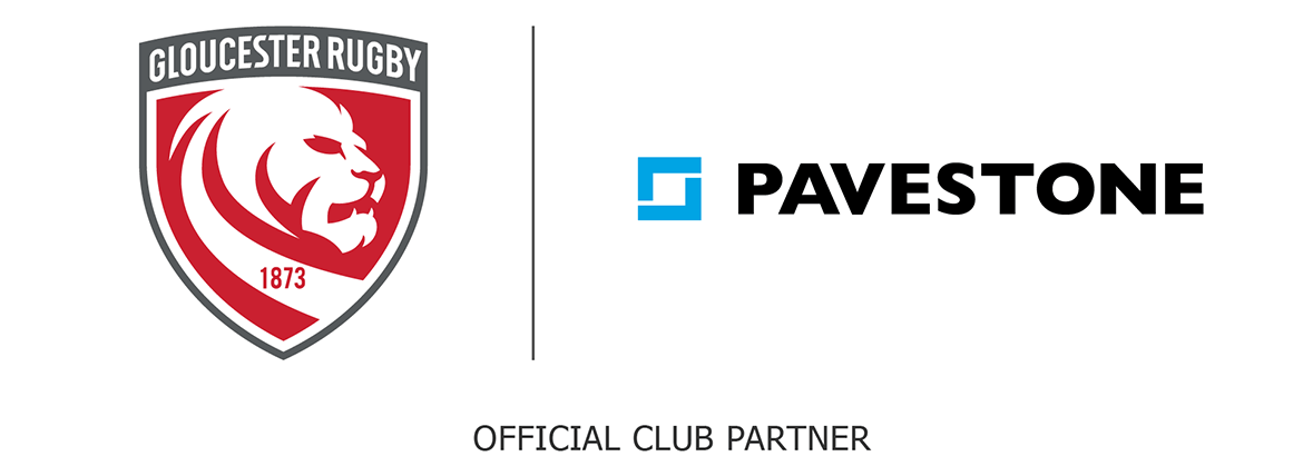 Pavestone official partner of Gloucester Rugby