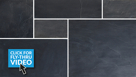 Pavestone Midnight Slate Paving