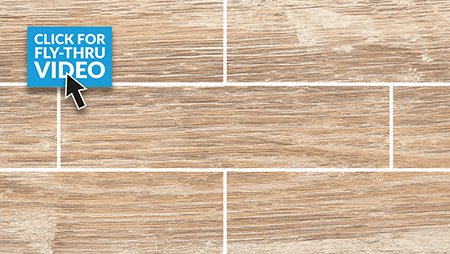 Pavestone Porcelain Crosswood Buff Paving Plank