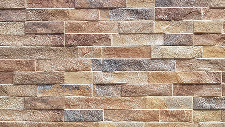 Pavestone Rust Rock Stack Porcelain Wall Cladding