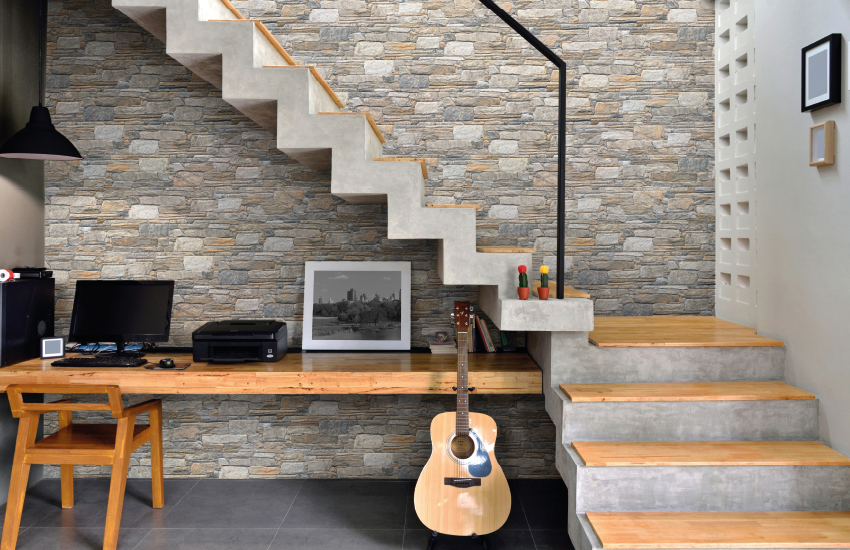 Rock Wall Porcelain Wall Cladding by Pavestone