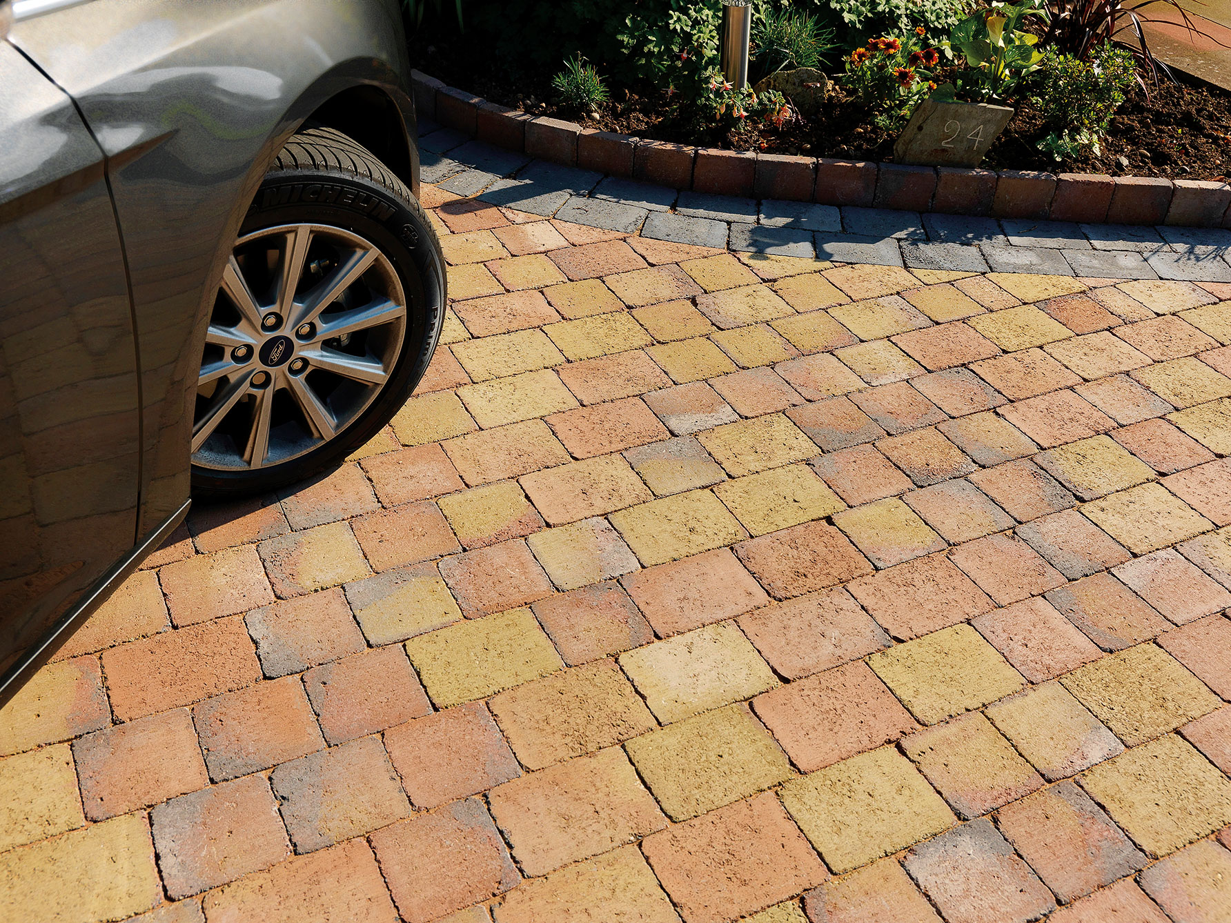 Driveway Pavestone Natural Paving Stone For Gardens
