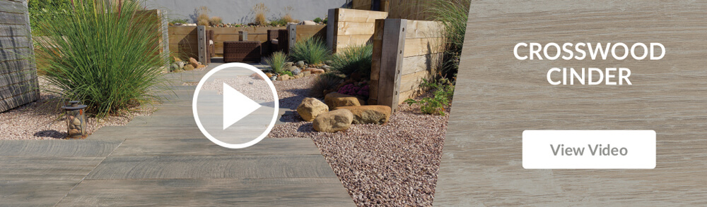 Pavestone Crosswood Cinder Porcelain Patio Paving Video