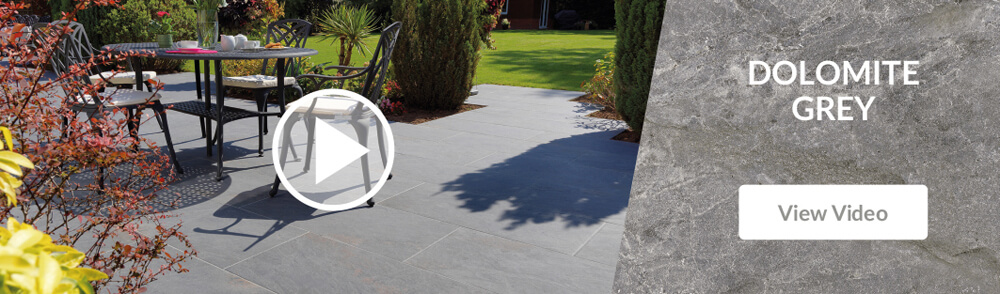 Pavestone Dolomite Grey Porcelain Patio Paving Video
