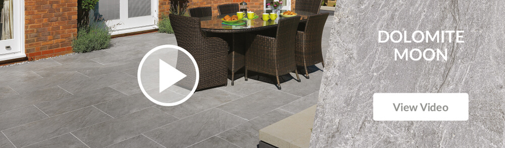 Pavestone Dolomite Moon Porcelain Patio Paving Video