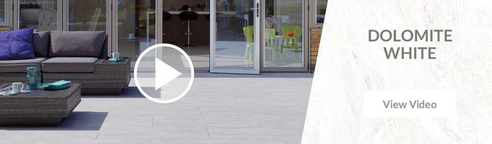 Pavestone Dolomite White Porcelain Patio Paving Video