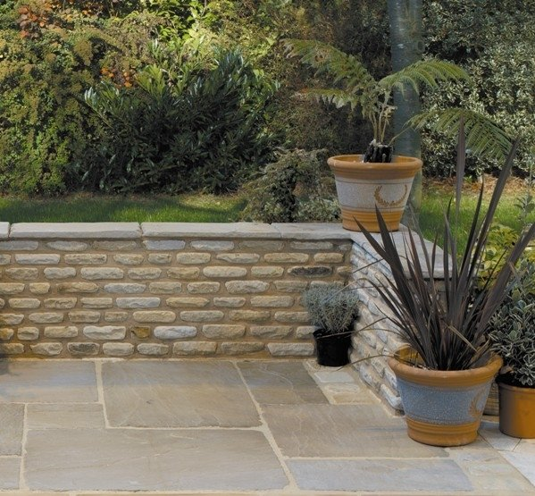 Image for Cotswold Walling & Oxford Tudor Paving