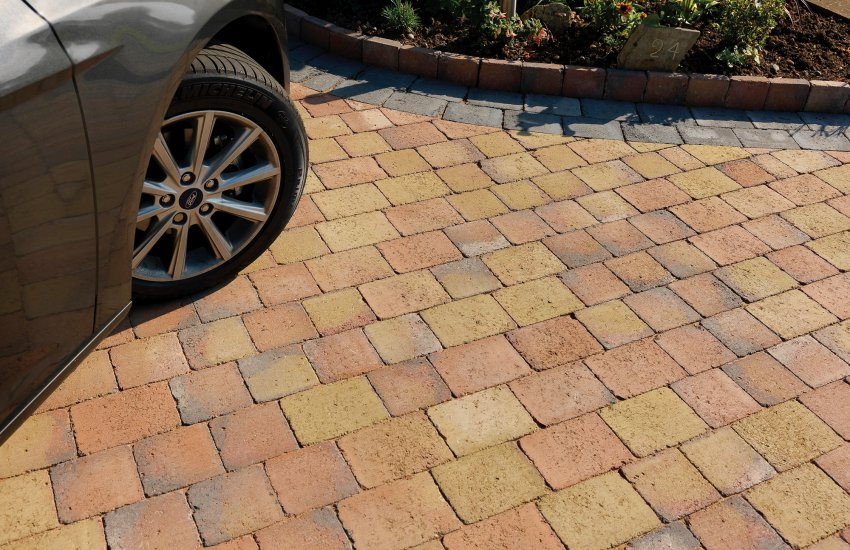 Image for Pavesett Autumn Brown Block Paving