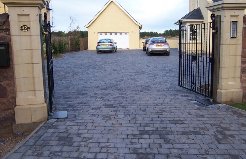 Image for Pavesett Charcoal Block Paving