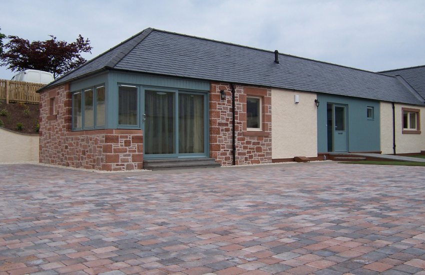 Image for Pavesett Ochre Grey Block Paving