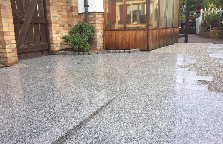 Image for Silver Granite Paving