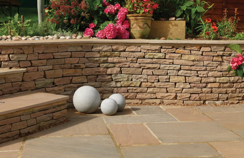 Image for Natural Stone Wall Coping