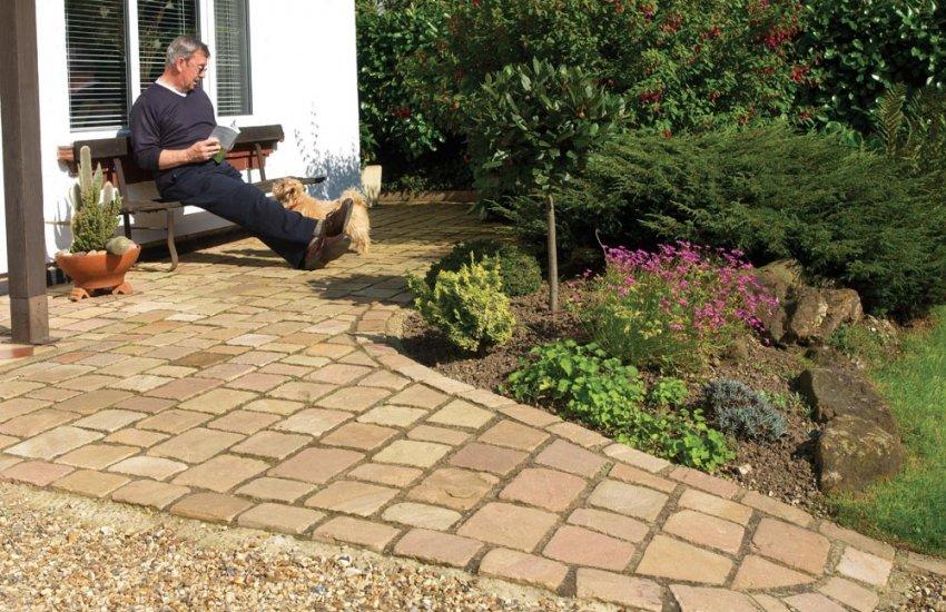 Garden Landscaping   Pavestone   Natural Paving Stone For Gardens .