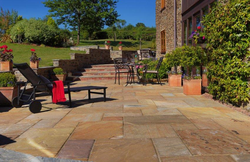 Tudor Antique - Pavestone - Natural Paving Stone for gardens