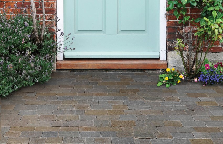 Image for Woodland Natural Stone Block Paving