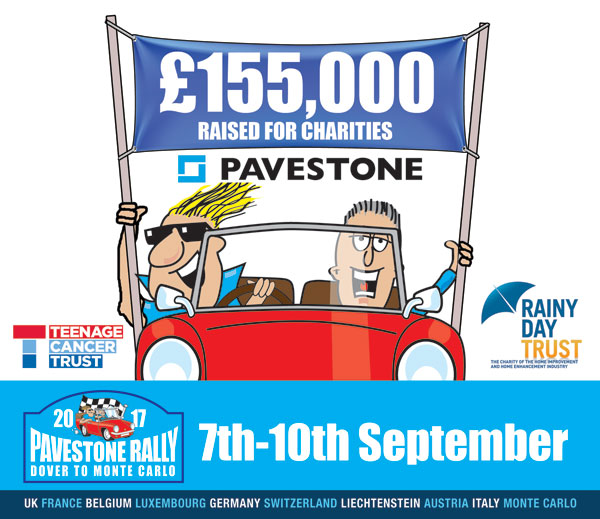 Pavestone Rally Update